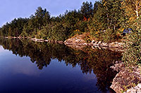 /images/133/1997-10-tema-rabbit-lake2.jpg - #00073: morning at Rabbit Lake … August 1997 -- Rabbit Lake, Temagami, Ontario.Canada
