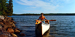/images/133/1998-07-tema-anima-me-pano.jpg - #00135: me at Anima Nipissing Lake … July 1998 -- Anima Nipissing Lake, Temagami, Ontario.Canada