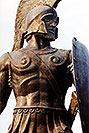 /images/133/1998-12-sparti-spartan.jpg - #00229: Spartan statue … images of Sparti … Dec 1998 -- Sparti, Greece