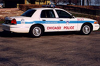 /images/133/1999-02-chicago-police.jpg - #00260: Chicago Police car … images  of Chicago … Feb 1999 -- Chicago, Illinois