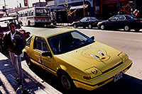 /images/133/1999-02-chicago-tweety.jpg - #00270: yellow Tweety Fiero in Chicago … Feb 1999 -- Chicago, Illinois