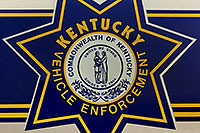 /images/133/1999-07-kentucky-police2.jpg - #00328: logo on Kentucky police car in Lousville … July 1999 -- Louisville, Kentucky