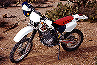 /images/133/2000-04-xr-florencej.jpg - #00488: my Honda XR400 near Florence Junction … April 2000 -- Apache Junction, Arizona