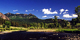 /images/133/2000-07-wolfcreek-river2-pano.jpg - #00523: near Wolf Creek Pass … July 2000 -- Wolf Creek Pass, Colorado