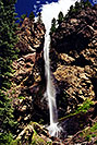 /images/133/2000-07-wolfcreek-waterfall-v.jpg - #00526: Waterfall near Wolf Creek Pass … July 2000 -- Wolf Creek Pass, Colorado
