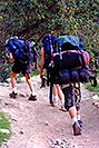 /images/133/2000-08-grand-backpackers-v.jpg - #00552: Backackers goin uphilll along Bright Angel Trail in Grand Canyon … July 2000 -- Bright Angel Trail, Grand Canyon, Arizona