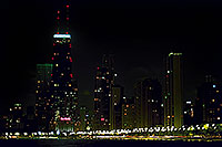 /images/133/2000-09-chicago-night.jpg - #00630: Chicago skyline at night … Sept 2000 -- Chicago, Illinois