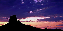 /images/133/2000-09-supersti-blue-sunset-pano.jpg - #00673: Superstition Mountains … Sept 2000 -- Superstitions, Arizona