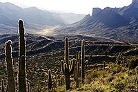 /images/133/2000-09-supersti-mantis-tra.jpg - #00677: view towards Canyon Lake in Superstition Mountains … Sept 2000 -- Superstitions, Arizona