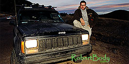 /images/133/2001-01-tor-phx-jeep-colo-pano.jpg - 00754: Returning 2,500 miles from Toronto to Phoenix … Jan 2001 -- Wilkerson Pass, Colorado