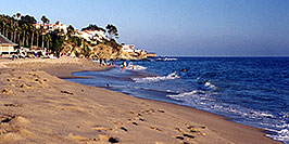 /images/133/2001-07-cali-aliso-view-pano.jpg - #00782: Images of Aliso Creek Beach at Laguna Beach … July 2001 -- Aliso Creek Beach, Laguna Beach, California