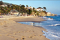 /images/133/2001-07-cali-dana-point.jpg - #00806: Images of Aliso Creek Beach at Laguna Beach … July 2001 -- Aliso Creek Beach, Laguna Beach, California