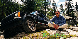/images/133/2001-07-indep-jeep-pano.jpg - 00814: returning from California coast via Colorado … July 2001 -- Independence Pass, Colorado