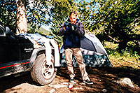 /images/133/2001-07-martin-lincoln-cree.jpg - #00850: Martin … camping near Independence Pass  … July 2001 -- Independence Pass, Colorado