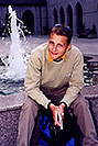 /images/133/2001-07-sfrisco-martin-fountain-v.jpg - #00850: Martin in front of a water fountain in San Francisco  … July 2001 -- San Francisco, California