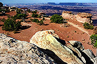/images/133/2001-11-canyon-by-moab.jpg - #00906: Needles Overlook … near Moab … Nov 2001 -- Moab, Utah