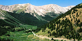/images/133/2002-06-independence-pass-aspen-pano.jpg - #00943: view from Independence Pass towards Aspen … June 2002 -- Independence Pass, Colorado