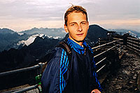/images/133/2002-08-slovakia-lomnicky-m.jpg - #01097: Martin at Lomnicky Stit … July 2002 -- Lomnicky Stit, Vysoke Tatry, Slovakia