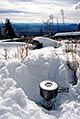 /images/133/2003-02-snowbowl-stove-snow-v.jpg - #01121: Snowbowl in February … Feb 2003 -- Snowbowl, Arizona