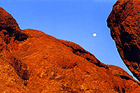 /images/133/2003-03-camelback-base-rocks.jpg - #01123: late afternoon at Camelback Mountain … March 2003 -- Camelback Mountain, Phoenix, Arizona