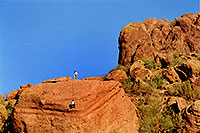 /images/133/2003-03-camelback-trail3.jpg - #01131: Camelback Mountain … March 2003 -- Camelback Mountain, Phoenix, Arizona