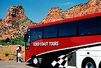 /images/133/2003-06-sedona-bell-bus1.jpg - 01234: Bell Rock in Oak Creek… June 2003 -- Bell Rock, Sedona, Arizona