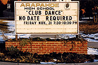 /images/133/2003-11-arapahoe-school.jpg - #01338: along my 12 mile walk … Nov 2003 -- Littleton, Colorado
