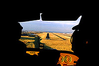 /images/133/2003-11-cessna-landing.jpg - #01351: approaching another landing in 4 seater Cessna (first 3 were enough for this backseat passenger)… Nov 2003 -- Centennial, Colorado