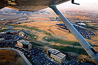 /images/133/2003-11-cessna-view1.jpg - #01352: view from 4 seater Cessna - practicing landings … Nov 2003 -- Centennial, Colorado
