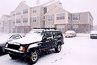 /images/133/2003-12-jeep-rosemont.jpg - #01384: snow in Lone Tree … Dec 2003 -- Remington, Lone Tree, Colorado