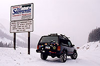 /images/133/2003-12-jeep-summit-pass.jpg - #01396: Eisenhower Tunnel (elev 11,013ft) from Silverthorne side … Dec 2003 -- Eisenhower Tunnel, Colorado