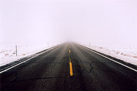 /images/133/2003-12-moab-fog-road4.jpg - 01401: Foggy Morning in Moab … Dec 2003 -- Moab, Utah