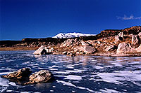 /images/133/2003-12-recapture-lake3.jpg - #01422: Recapture lake … Dec 2003 -- Recapture, Moab, Utah