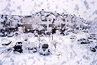 /images/133/2003-12-rosemont-snow-win.jpg - #01406: First snow of the season in Lone Tree … Nov 2003 -- Remington, Lone Tree, Colorado