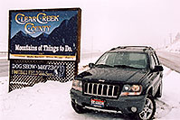 /images/133/2004-04-jeep-clear-creek.jpg - 01429: my new Jeep near Golden … April 2004 -- Golden, Colorado