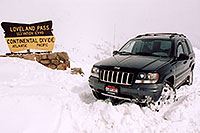 /images/133/2004-04-jeep-loveland-pass.jpg - #01434: my new Jeep at Loveland Pass … April 2004 -- Loveland Pass, Colorado