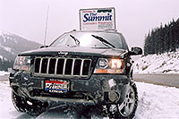 /images/133/2004-04-jeep-summit-pass.jpg - #01438: my Jeep near Golden … April 2004 -- Sedalia, Colorado