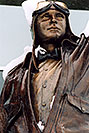 /images/133/2004-04-jeppesen3-v.jpg - #01454: statue of Elroy Jeppesen, airway chart pioneer … June 2004 -- Englewood, Colorado