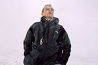 /images/133/2004-04-loveland-me3.jpg - #01455: hoping to measure 60mph wind at Loveland Pass (experienced a week before) … April 2004 -- Loveland Pass, Colorado