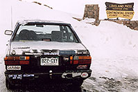 /images/133/2004-04-loveland-vw-sticker.jpg - #01465: views of Loveland Pass … April 2004 -- Loveland Pass, Colorado