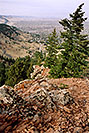 /images/133/2004-05-buffalo-bill-view1-v.jpg - #01484: View from Buffalo Bill grave … May 2004 … Golden, Colorado -- Golden, Colorado