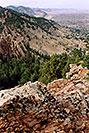 /images/133/2004-05-buffalo-bill-view2-v.jpg - #01485: View from Buffalo Bill grave … May 2004 … Golden, Colorado -- Golden, Colorado