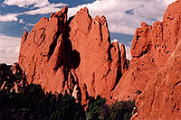 /images/133/2004-05-gardgods-climbers1.jpg - #01502: Red Rocks in Garden of the Gods … May 2004 -- Garden of the Gods, Colorado Springs, Colorado