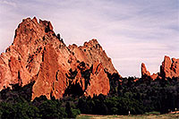 /images/133/2004-05-gardgods-rocks3.jpg - #01510: Red Rocks in Garden of the Gods … May 2004 -- Garden of the Gods, Colorado Springs, Colorado