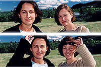 /images/133/2004-05-sedalia-ola-aneta.jpg - #01515: Ola and Aneta … May 2004 -- Sedalia, Colorado