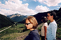 /images/133/2004-06-indep-twin-side3.jpg - #01526: La Plata Peak at 14,336 ft in the background … view from Independence Pass Road towards Twin Lakes … June 2004 -- La Plata Peak, Independence Pass, Colorado