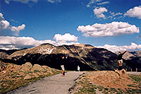 /images/133/2004-06-indep-view1.jpg - #01527: at the top of Independence Pass … June 2004 -- Independence Pass, Colorado