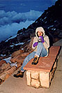 /images/133/2004-06-mtevans-ola-top1-v.jpg - #01562: Ola at top of Mt Evans … June 2004 -- Mt Evans, Colorado