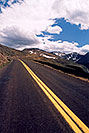 /images/133/2004-06-mtevans-road-cars4-v.jpg - #01569: view along Mt Evans road … June 2004 -- Mount Evans Road, Mt Evans, Colorado