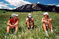 /images/133/2004-07-boulder-3meadow-sit.jpg - #01609: Aneta, Ola and Ewka hiking in Boulder … July 2004 -- Boulder, Colorado